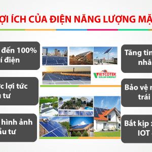6 Lợi ích điện mặt trời mang lại và cần đầu tư ngay
