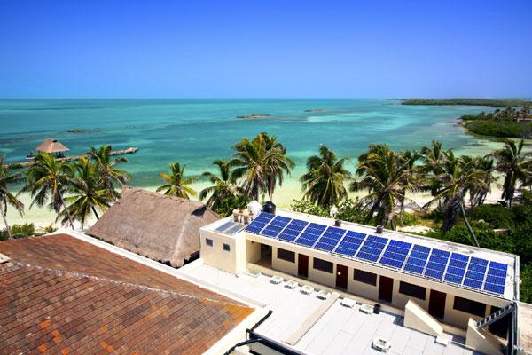 Hệ thống điện mặt trời cho khách sạn-resort