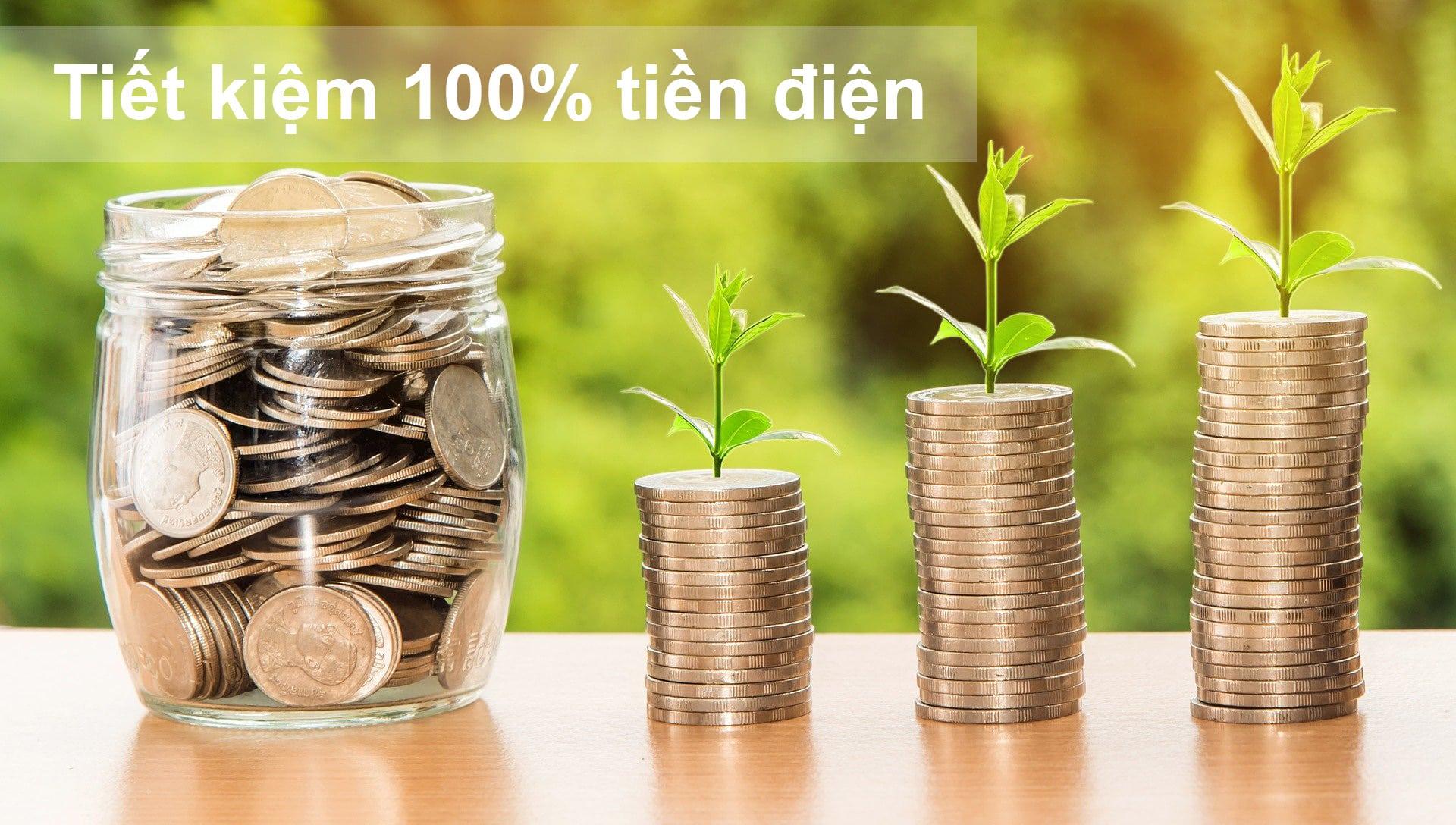 tiết kiệm tiền điện với điện mặt trời