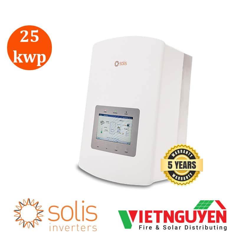 inverter hòa lưới Solis 25Kwp