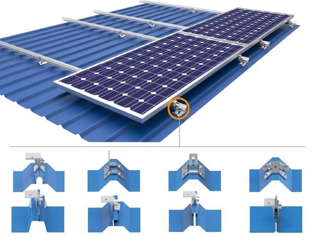 hệ thống khung giàn điện mặt trời
