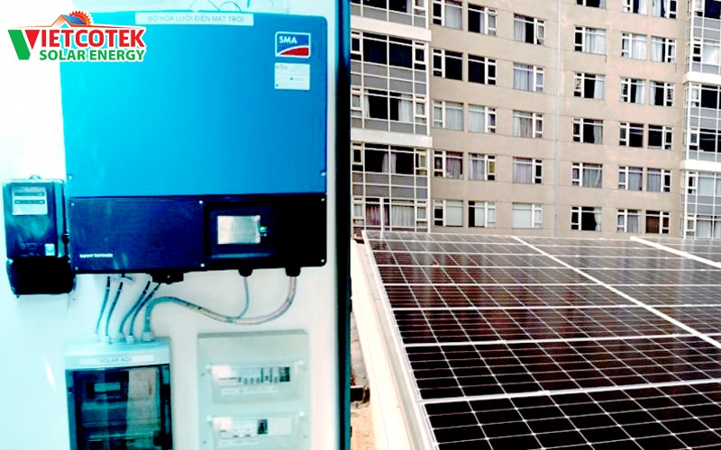 điện mặt trời hòa lưới 15kwp bình thạnh
