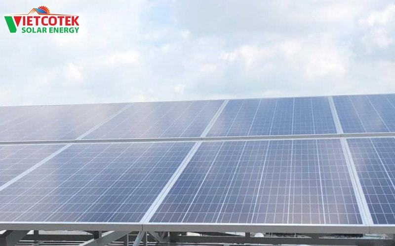 hệ thống điện mặt trời hòa lưới 25kw tân phú