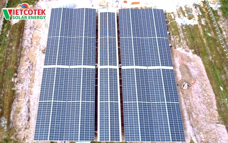 điện mặt trời hòa lưới 930kwp tây ninh